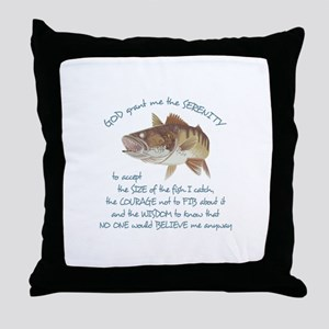 A FISHERMANS PRAYER Throw Pillow