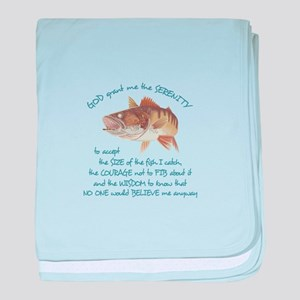 A FISHERMANS PRAYER baby blanket