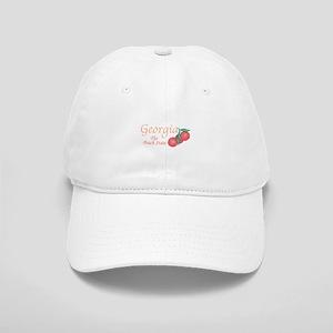 Georgia The Peach State Baseball Cap