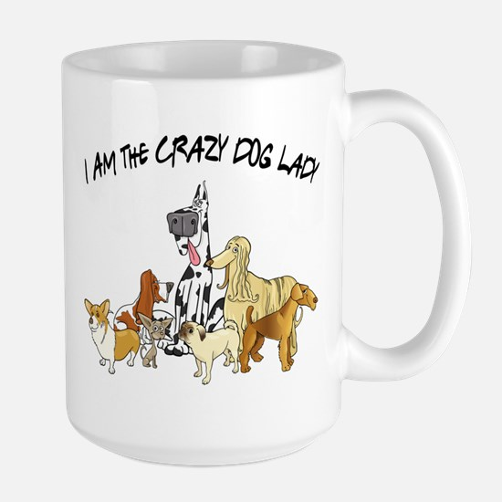 Crazy Dog Lady Mugs