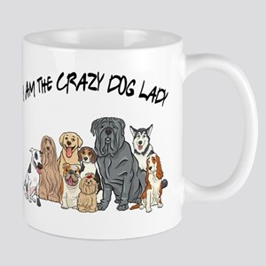 I Am the Crazy Dog Lady Mug