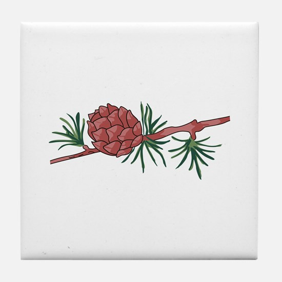 PINECONE Tile Coaster