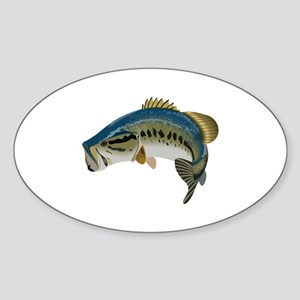 LARGE MOUTH BASS Sticker