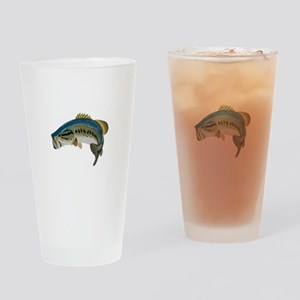 LARGE MOUTH BASS Drinking Glass