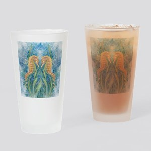 Sweet Seahorses Drinking Glass