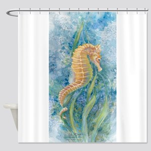 Sweet Seahorse Shower Curtain