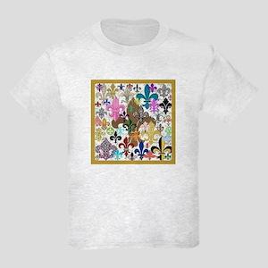 Fleur De Lis Kids Light T-Shirt