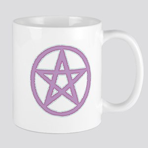 Lilac Puffy Pentagram Mugs