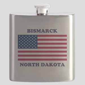Bismarck North Dakota Flask