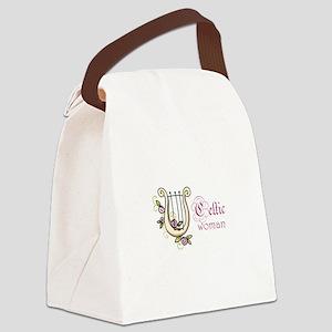 CELTIC WOMAN Canvas Lunch Bag