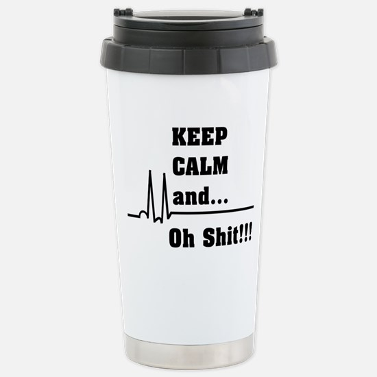Funny Icu nurse Travel Mug