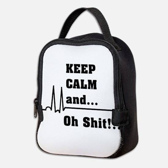 Cute Nurse student Neoprene Lunch Bag