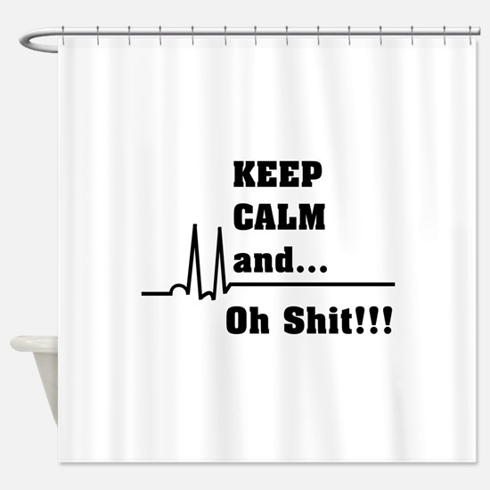 Cute Nurse student Shower Curtain