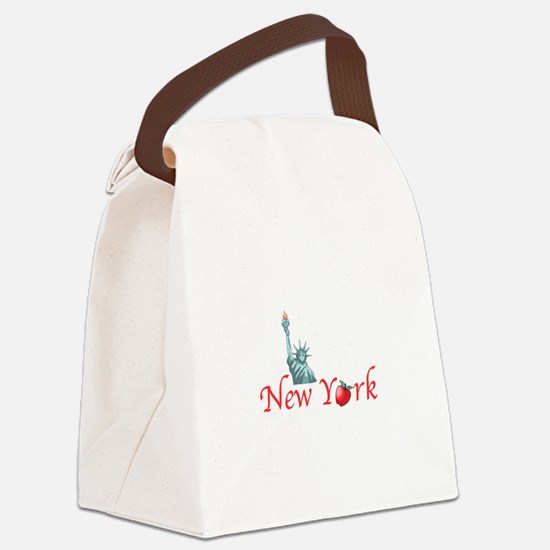 New York Canvas Lunch Bag