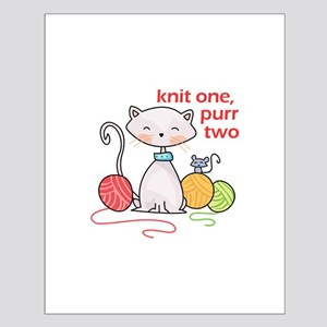 KNIT ONE PURR TWO Posters