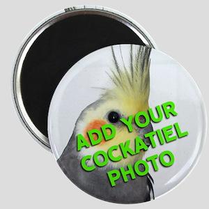 Custom Cockatiel Photo Magnet