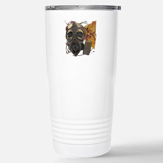 Biohazard Zombie Apocal Stainless Steel Travel Mug