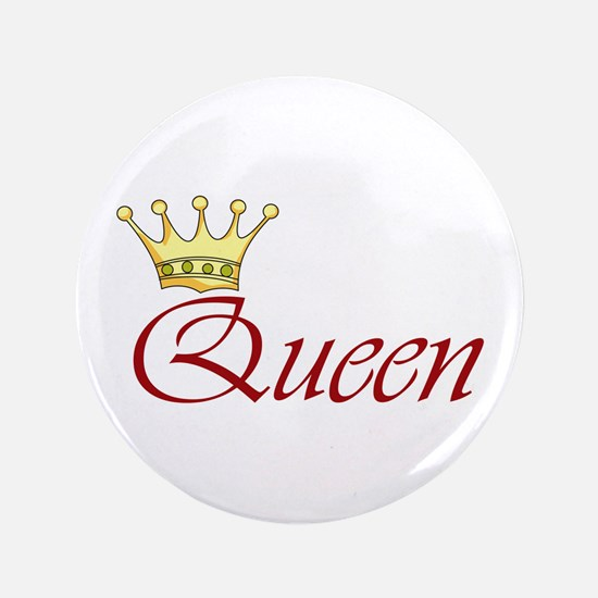 "QUEEN 3.5"" Button"