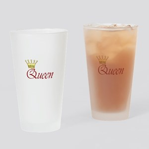 QUEEN Drinking Glass