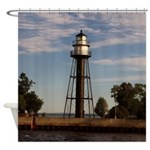 Duluth Harbor South Pier Inner Shower Curtain