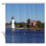 Rock Island Light Shower Curtain