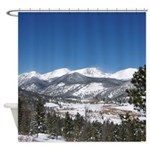 Rocky Mountain National Park Shower Curtain