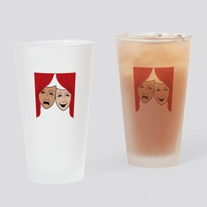 LIVE THEATER Drinking Glass