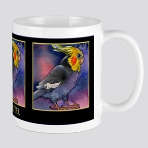 Beautiful Cockatiel Parrot Mug