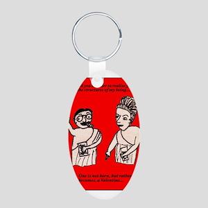 Existential Valentine Keychains
