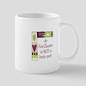 A FAT QUARTER Mugs