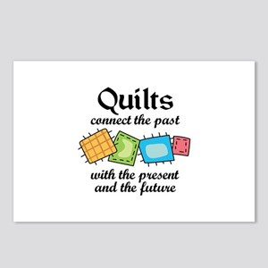 QUILTS CONNECT Postcards (Package of 8)