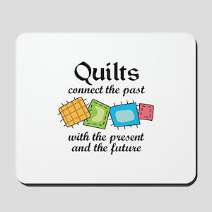 QUILTS CONNECT Mousepad