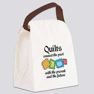 QUILTS CONNECT Canvas Lunch Bag