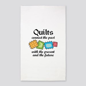 QUILTS CONNECT Area Rug