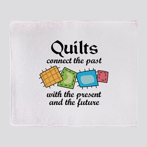 QUILTS CONNECT Throw Blanket