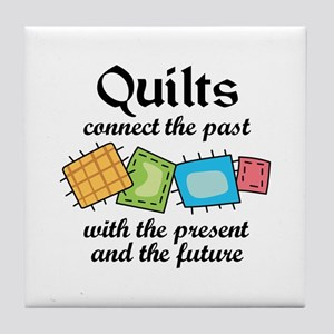 QUILTS CONNECT Tile Coaster