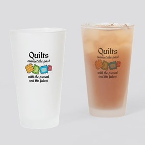 QUILTS CONNECT Drinking Glass
