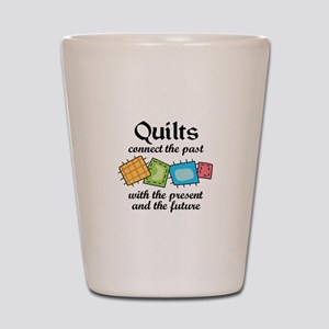 QUILTS CONNECT Shot Glass