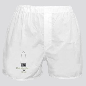 Photographer at work Boxer Shorts