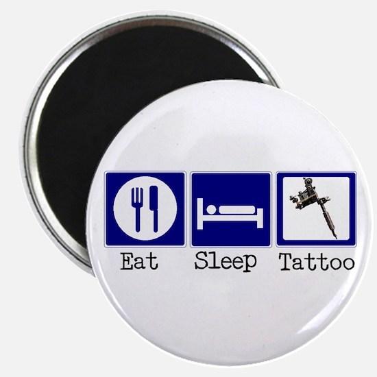 Eat, Sleep, Tattoo Magnet