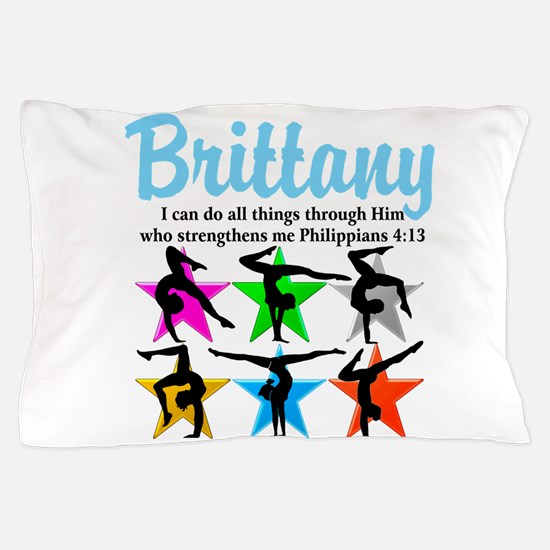 UPLIFTING GYMNAST Pillow Case