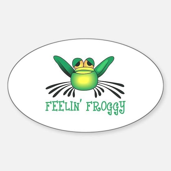 FEELIN FROGGY Decal