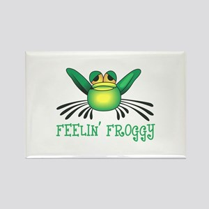 FEELIN FROGGY Magnets