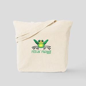 FEELIN FROGGY Tote Bag