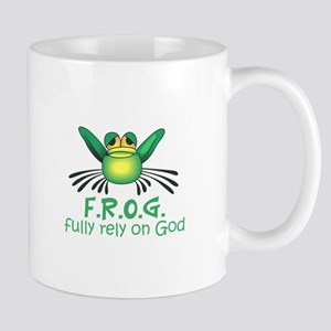 FULLY RELY ON GOD Mugs