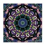Dreaming Mandala Tile Coaster