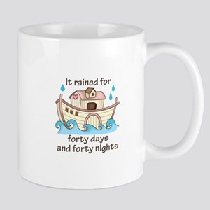 IT RAINED FORTY DAYS Mugs