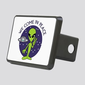 WE COME IN PEACE Hitch Cover