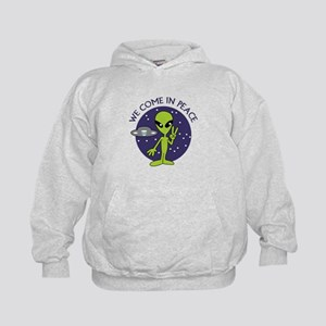 WE COME IN PEACE Hoodie
