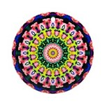 Mandala Dreaming Ornament (Round)
